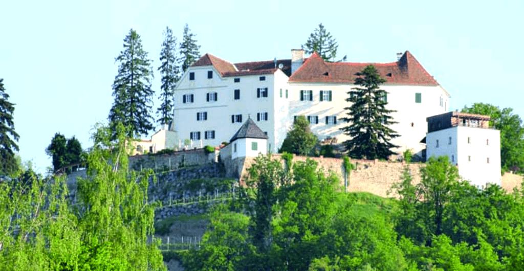 Castele Europa unde te poti caza - Schloss Kapfenstein - Austria