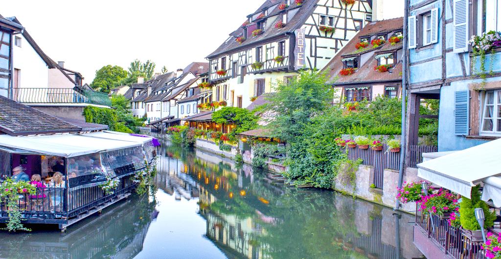 Cartierul Krutenau - Colmar, Alsacia
