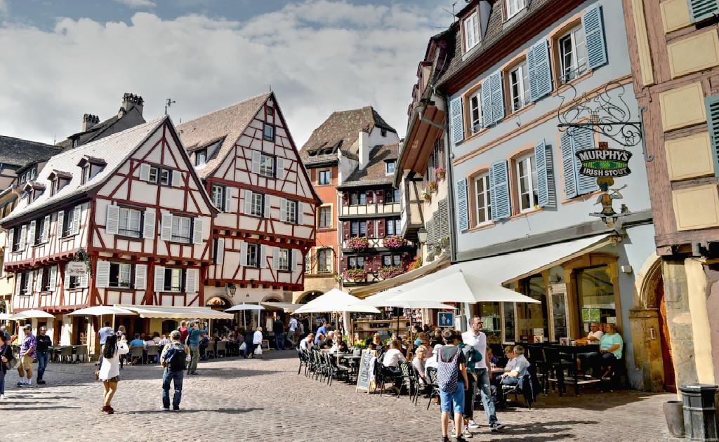 Centrul Vechi si Place de la Cathedrale - Colmar, Alsacia