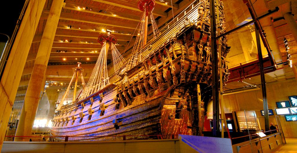 Obiective si atractii turistice Stockholm - Muzeul Vasa