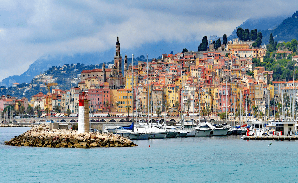Obiective turistice Coasta de Azur - Menton