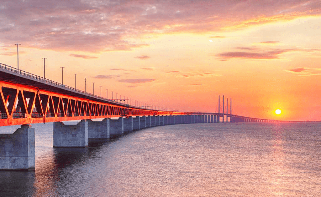 Obiective turistice Malmo - Podul Oresund Suedia