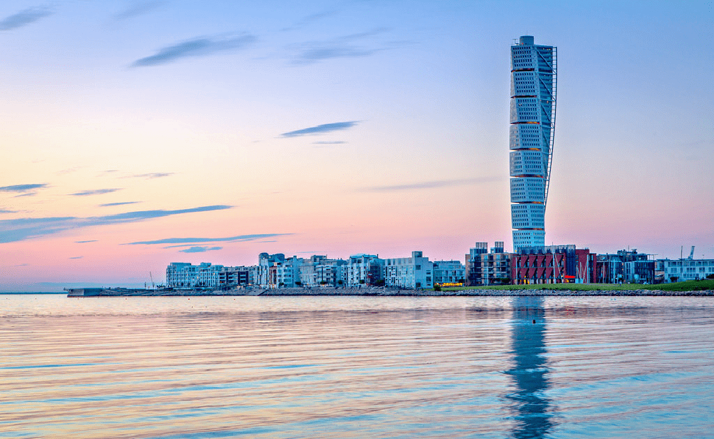 Obiective turistice Malmo - Turnul Turning Torso