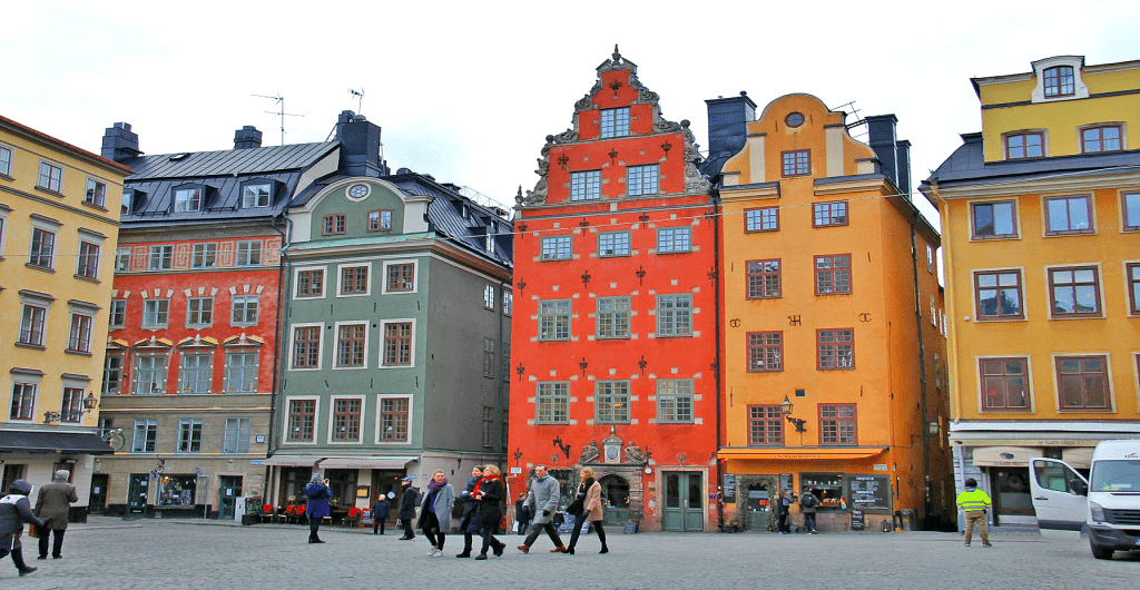 Obiective si atractii turistice Stockholm - Gamla Stan