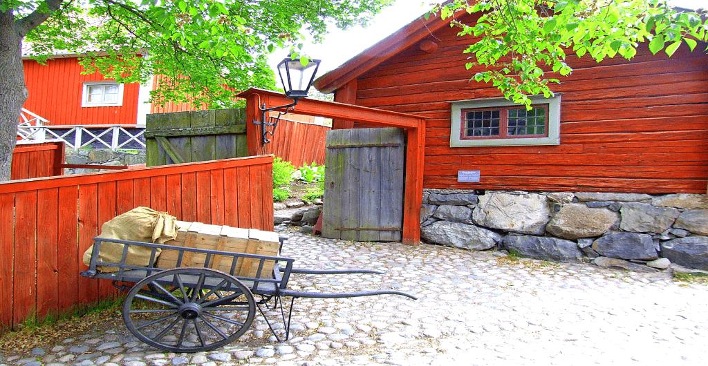 Obiective si atractii turistice Stockholm - Muzeul Skansen