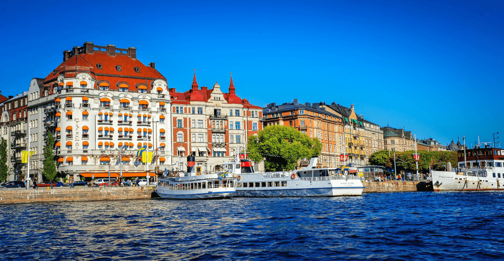 Obiective si atractii turistice Stockholm - Caile navigabile