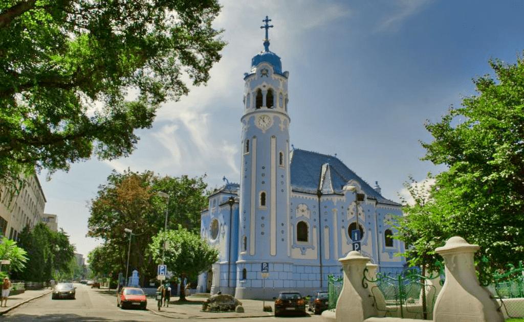 Obiective turistice Bratislava - Biserica Albastra