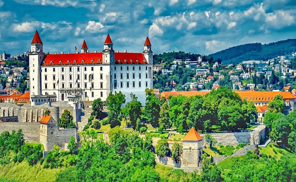 Obiective turistice Bratislava - Castelul Bratislava