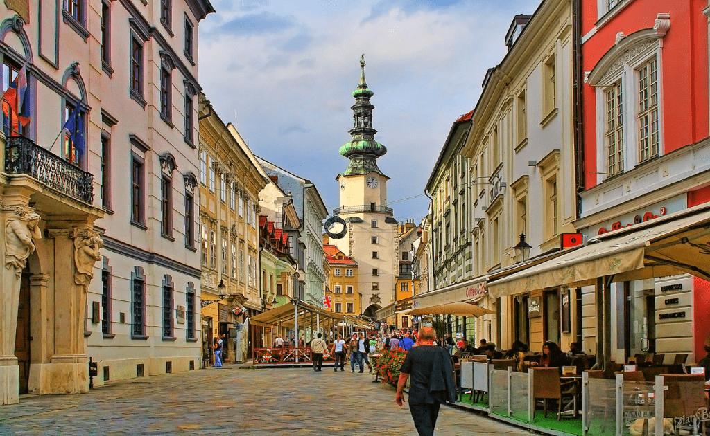 Obiective turistice Bratislava - Centrul Vechi