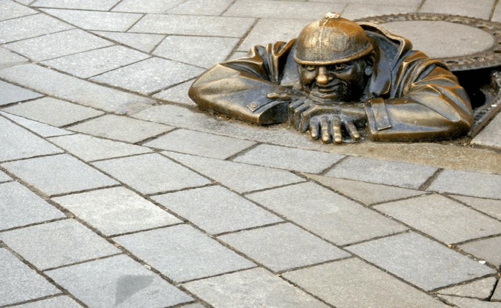 Obiective turistice Bratislava - Centrul vechi, Cumil