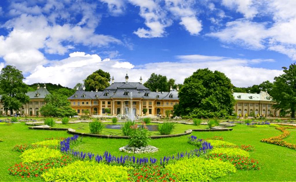 Obiective turistice Dresda - Palatele Pillnitz