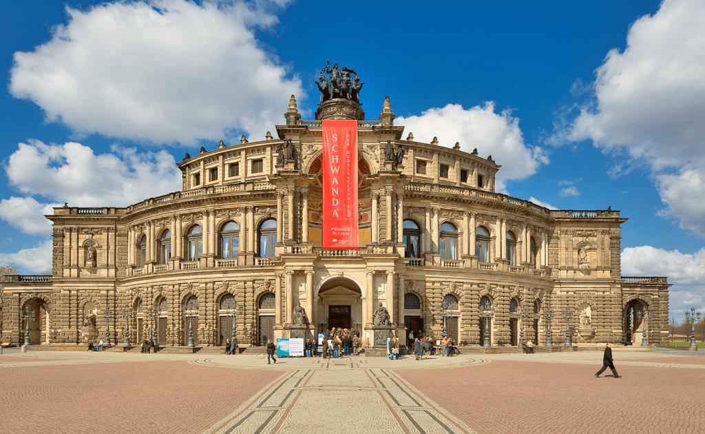 Obiective turistice Dresda - Semperopera