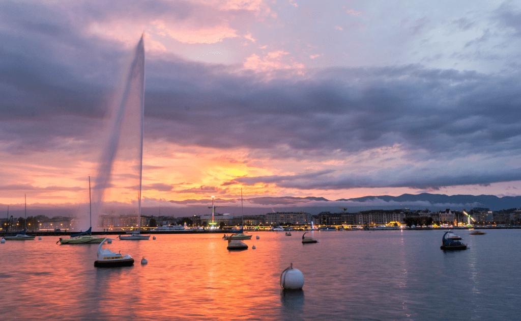Obiective turistice Geneva - Jet d'Eau