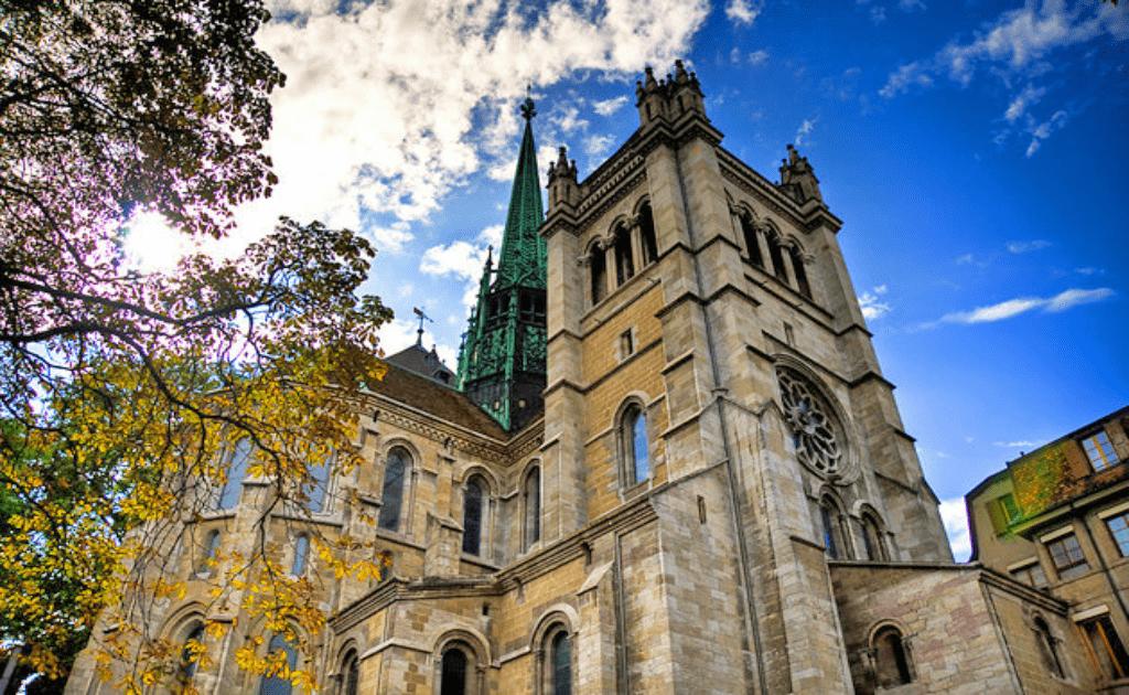 Obiective turistice Geneva - Temple Saint Pierre