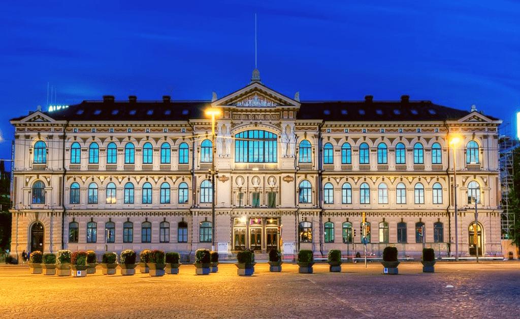 Obiective turistice Helsinki - Muzeul de Arta al Ateneului