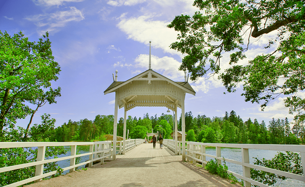 Obiective turistice Helsinki - Muzeul in aer liber Seurasaari-