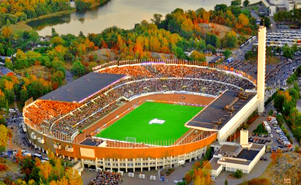 Obiective turistice Helsinki - Stadionul Olimpic
