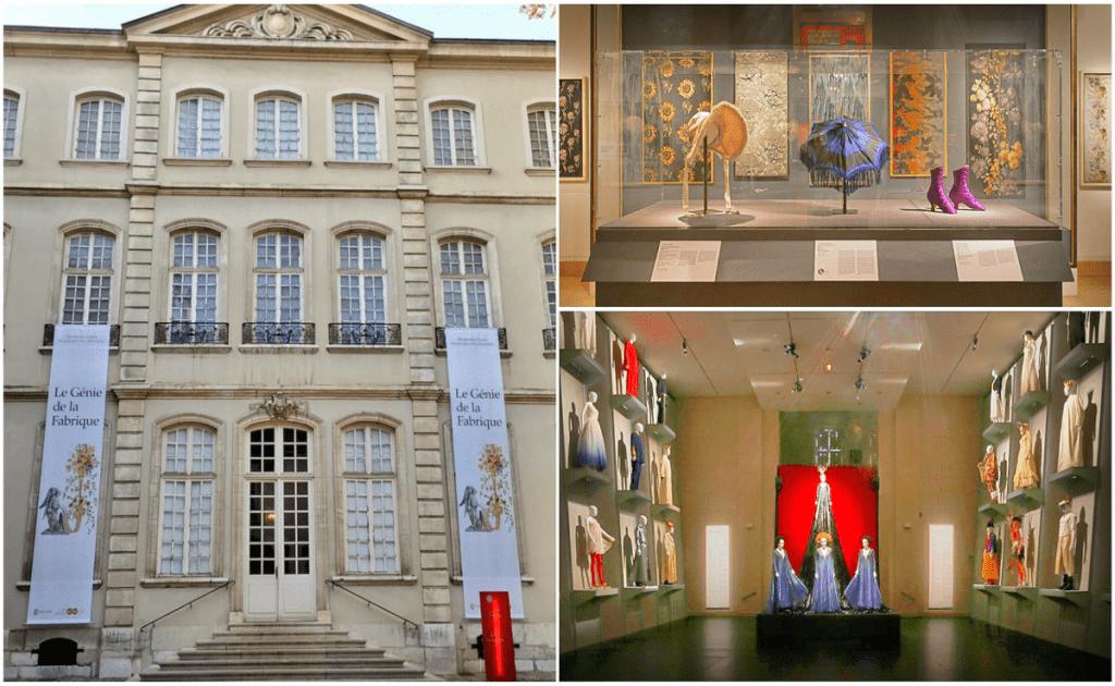 Obiective turistice Lyon - Muzeul de Istorie al Textilelor