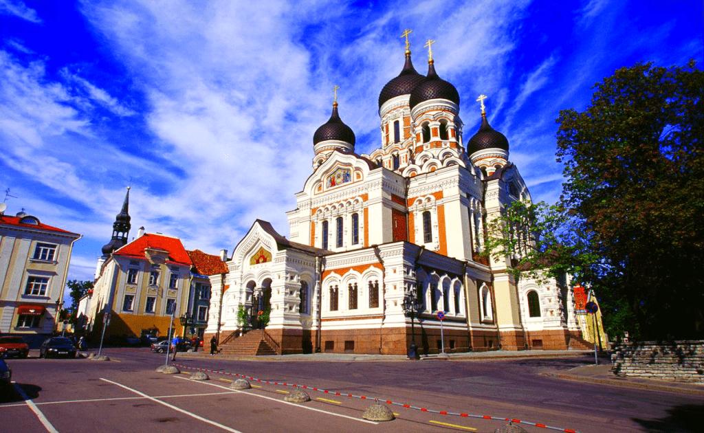 Obiective turistice Talinn - Catedrala Alexander Nevsky
