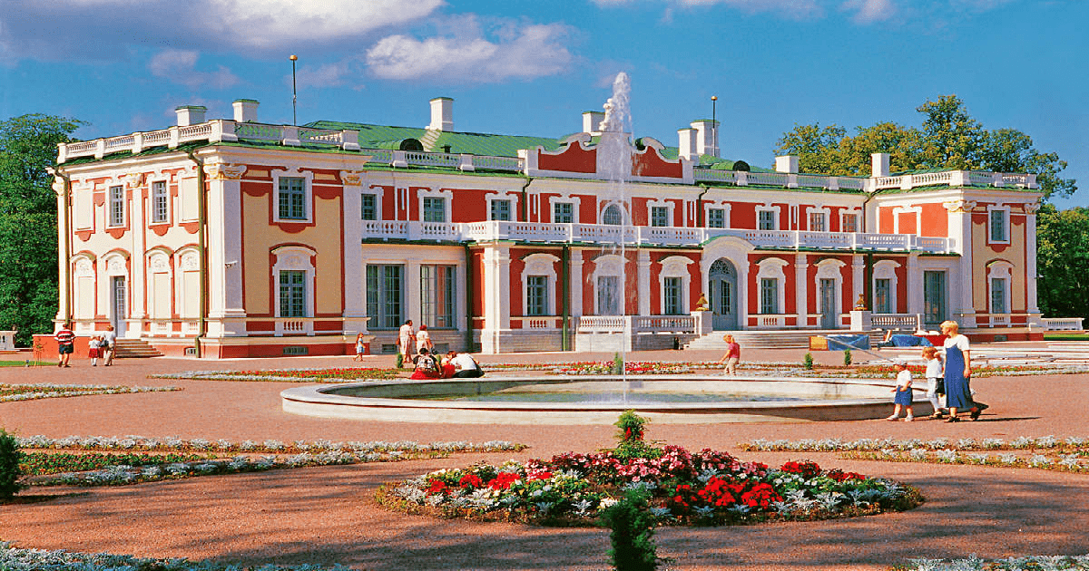 Obiective turistice Tallinn - Palatul Kadriorg-