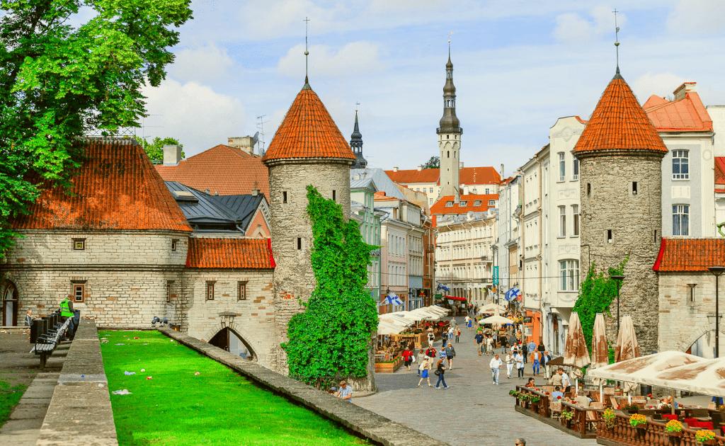 Obiective turistice Tallinn - Centrul Vechi