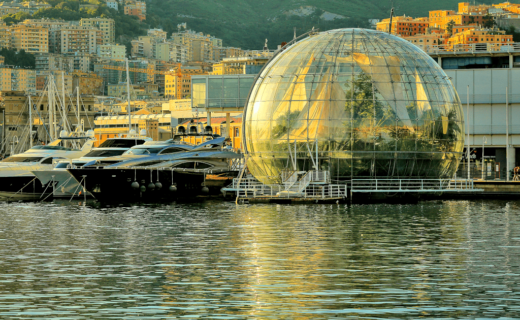 Obiective turistice Genoa - Aquarium