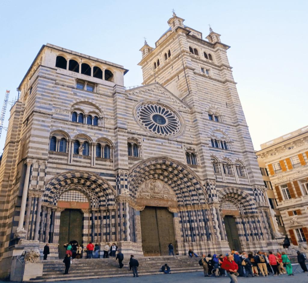 Obiective turistice Genova - Catedrala San Lorenzo