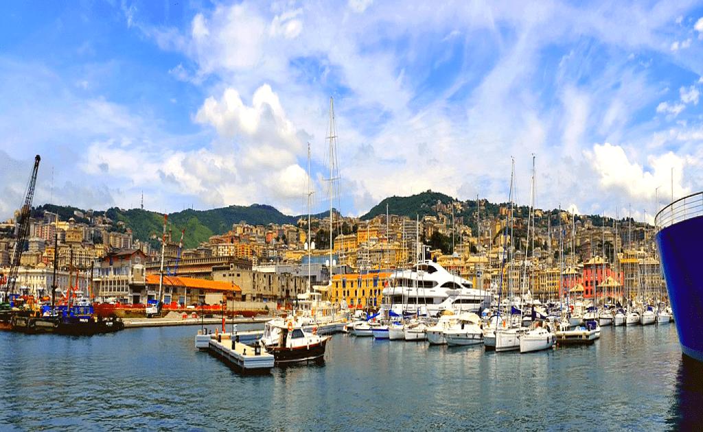 Obiective turistice Genova - Portul