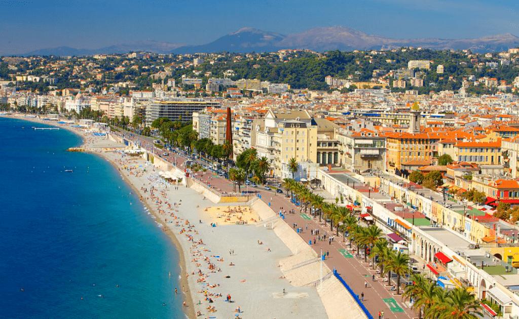 Obiective turistice Nisa - Promenade des Anglais