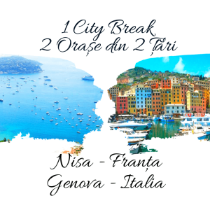 1 City Break – 2 Orașe din 2 Țări: NISA & GENOVA 2021