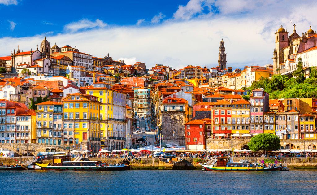 Obiecive turistice Porto - Cais da Ribeira