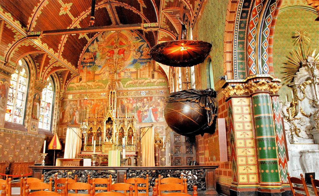 Obiective turistice Bruges - Basilica Sfantului Sange