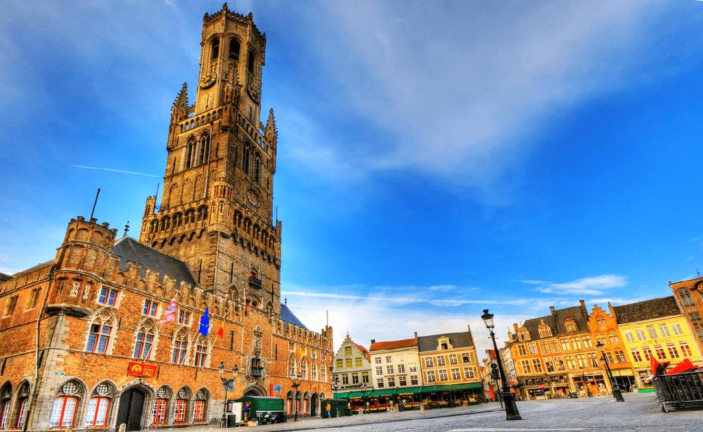 Obiective turistice Bruges -Belfort van Brugge