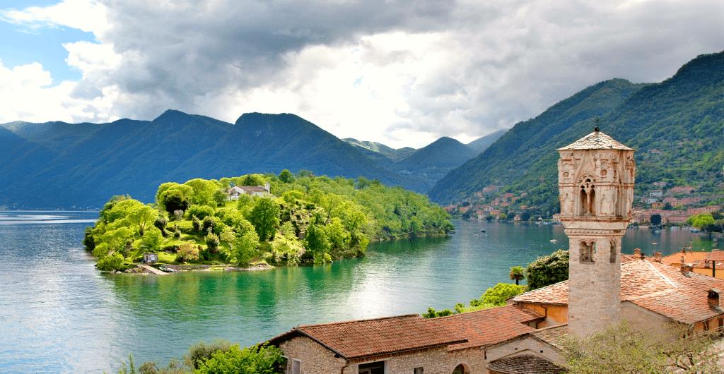 Obiective turistice Como - Isola Comacina