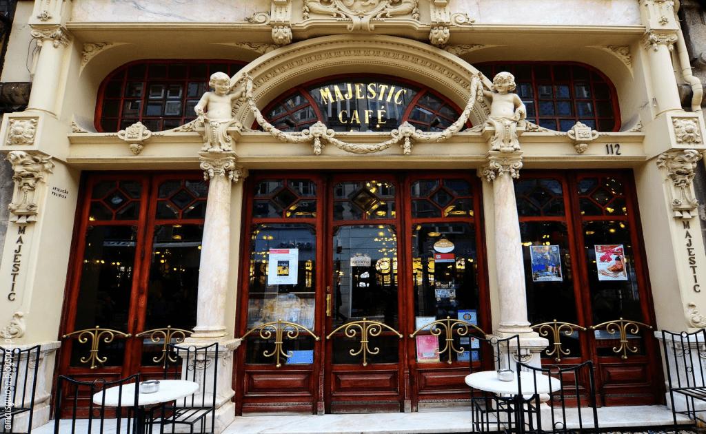 Obiective turistice Porto - Cafe Majestic