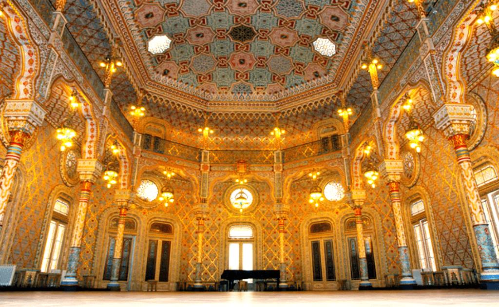 Obiective turistice Porto - Palacio da Bolsa