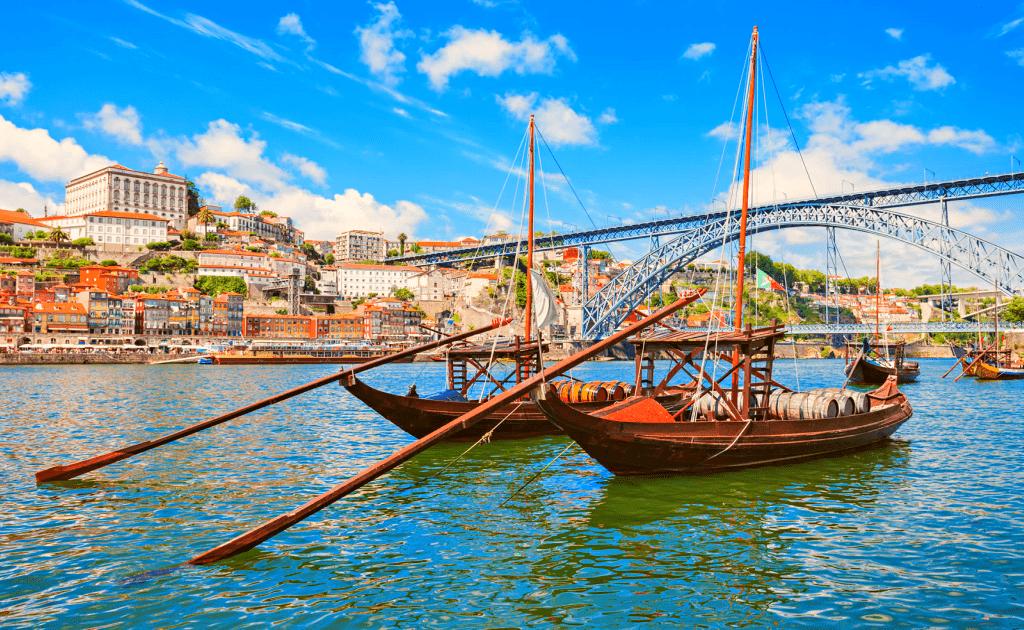 Obiective turistice Porto - Ponte Dom Luis I