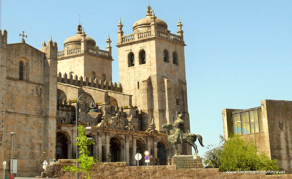 Obiective turistice Porto - Se Cathedral