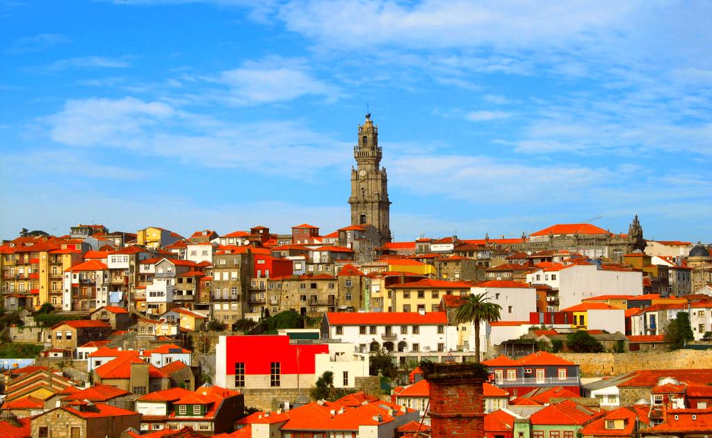 Obiective turistice Porto - Torre dos Clerigos-