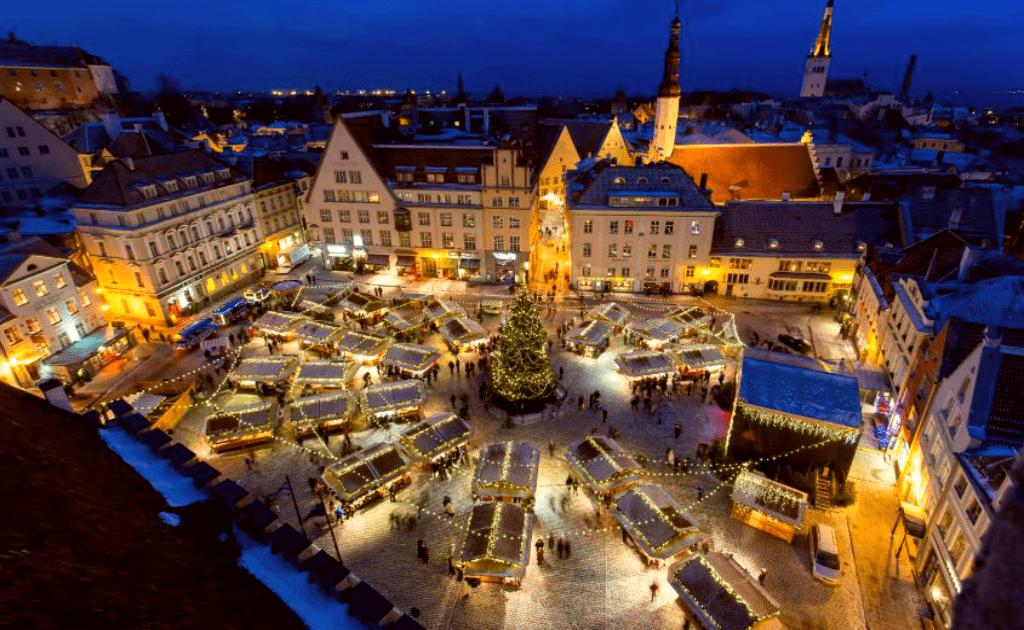 Vacanta de 1 decembrie in Tallinn - Targul de Craciun