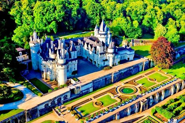 castele de pe Valea Loarei-d'Usse