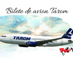 Oferta promotionala Tarom – bilete avion de la 39 euro/ dus-intors