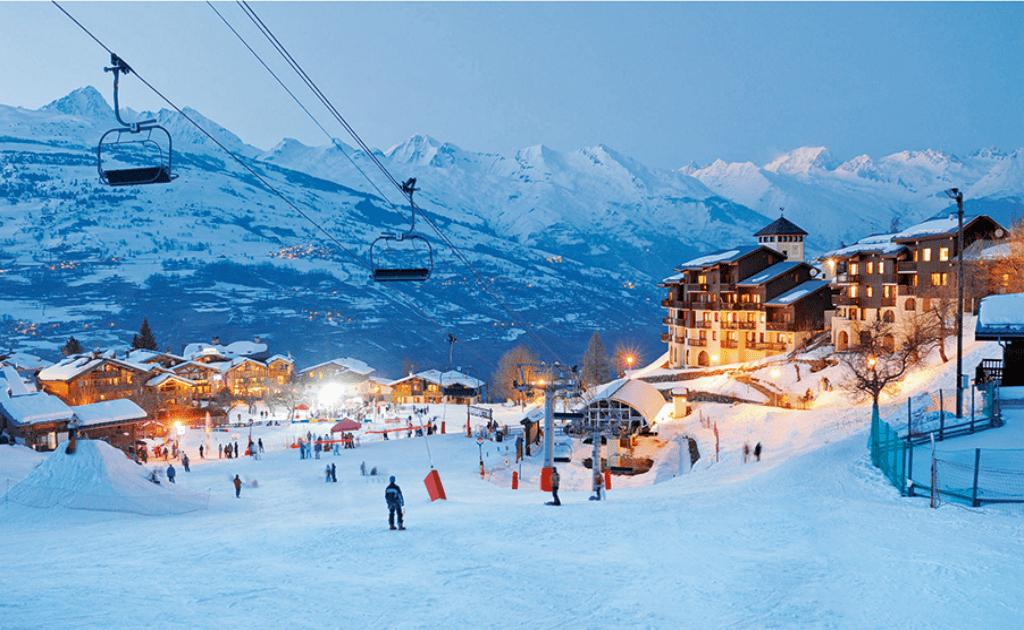 Statiuni de ski Franta - statiunea La Plagne