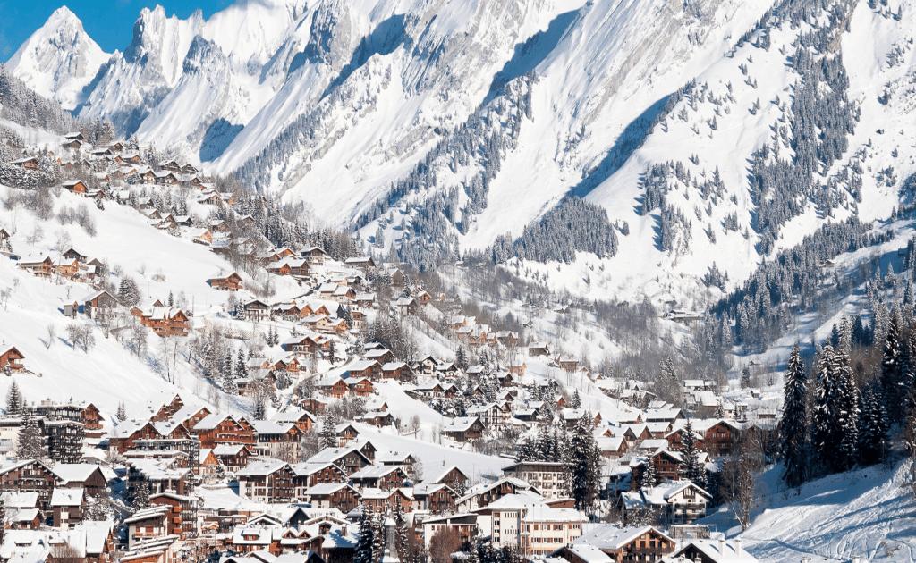 Top 9 statiuni de ski Franta- Clausaz