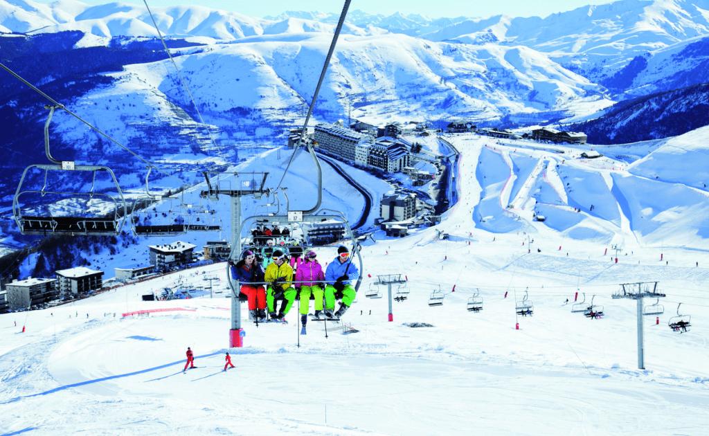 Top 9 statiuni de ski Franta - St. Lary Soulan