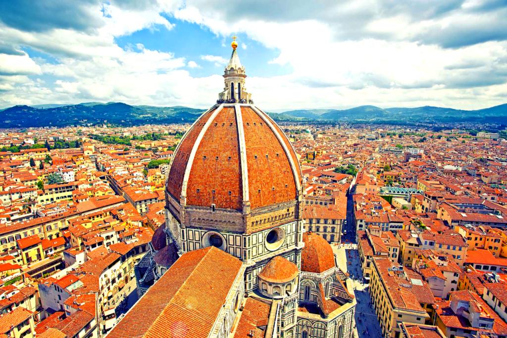 Domul din Florenta- obiective turistice Florenta - leaganul Renasterii italiene