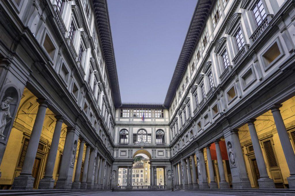 Galleria degli Uffizi- obiective turistice florenta