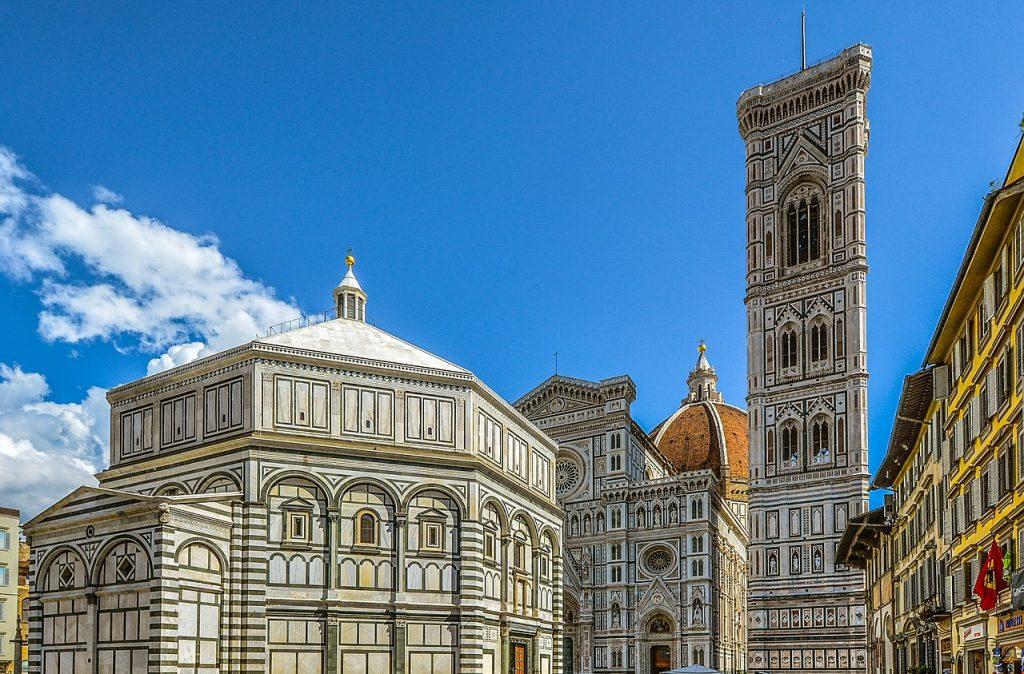 baptisteriul si clopotnita- obiective turistice Florenta