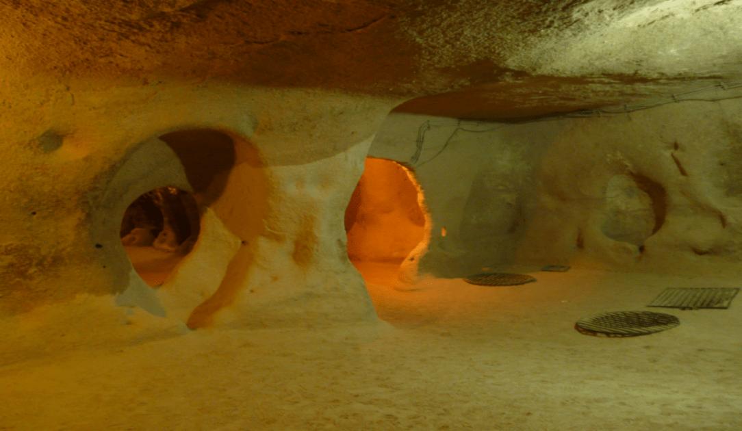 Obiective turistice Cappadocia - orasul subteran