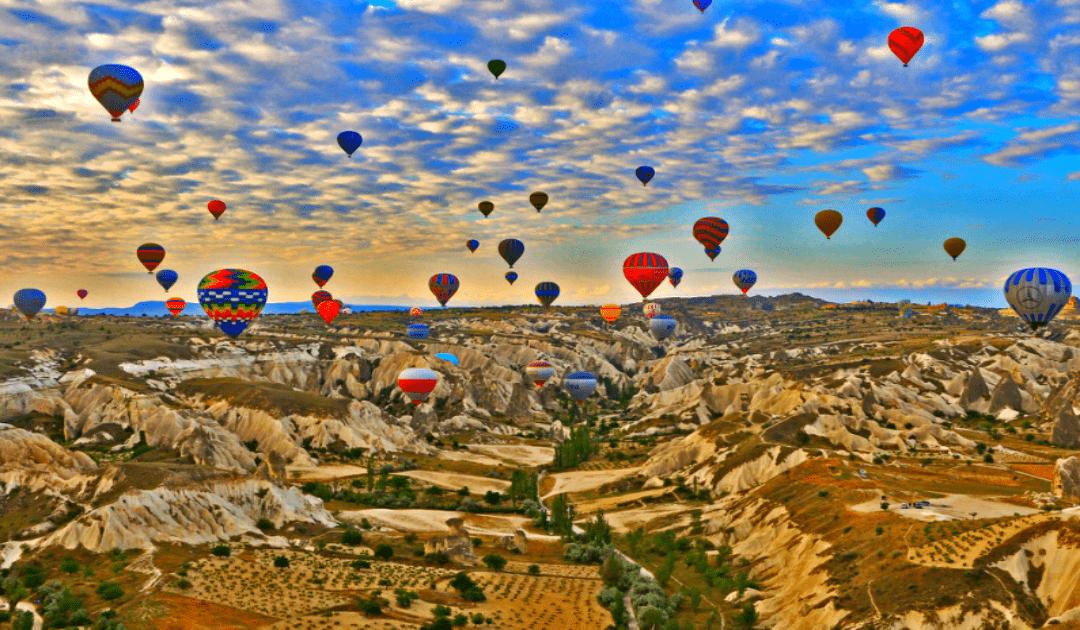 Obiective turistice Cappadocia - plimbare cu balon